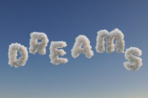 Dreams written in clouds
