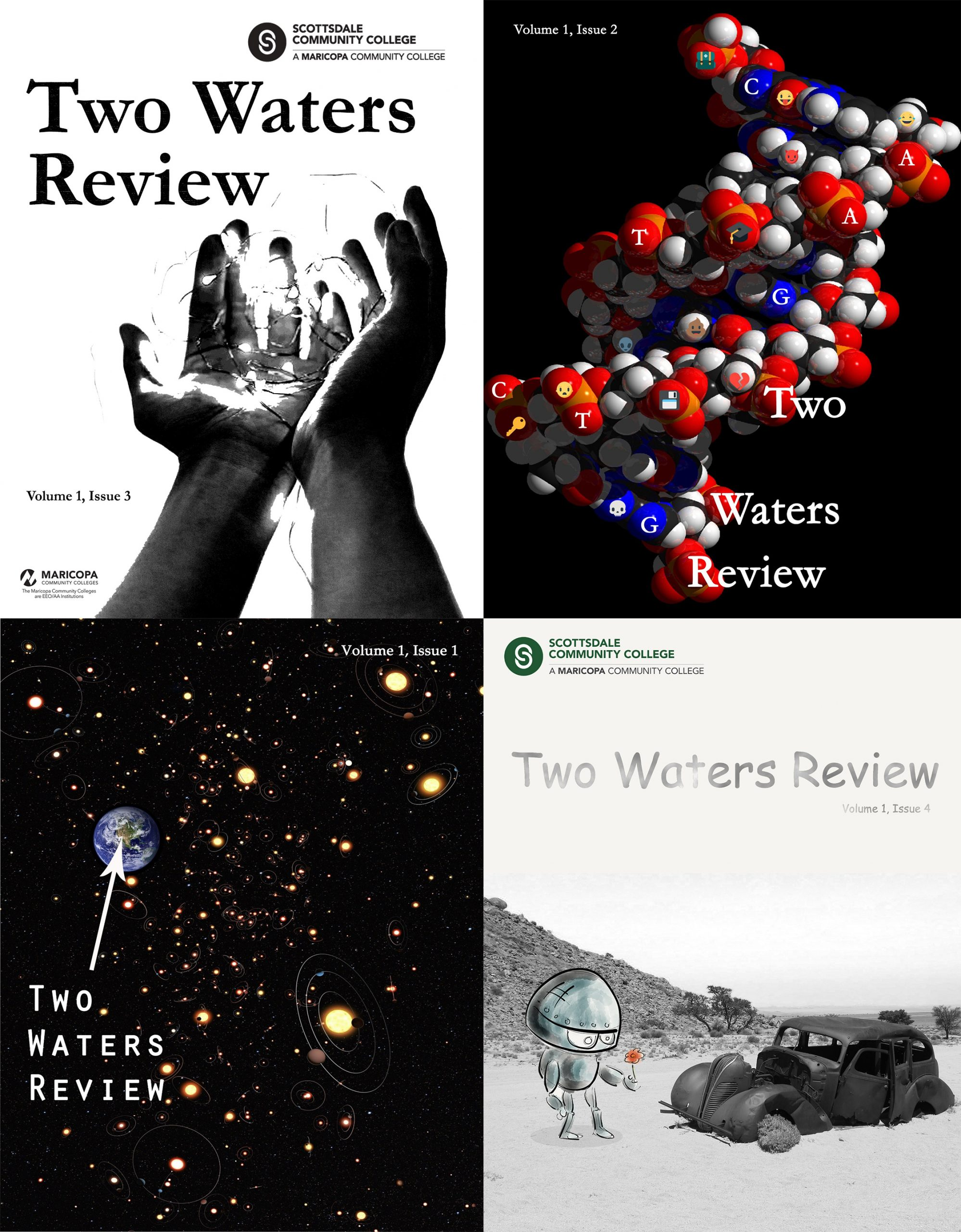 Cover image for Two Waters Review, Volume One - 2016 to 2019